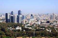 Luftaufnahme von Tel Aviv Stockfotografie