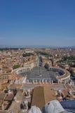 Luftaufnahme von Vatican Stockbild
