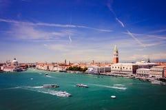 Luftaufnahme von Venedig, Italien lizenzfreie stockfotos