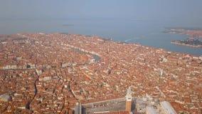 Luftaufnahme von Venedig Italien stock video footage