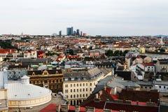 Luftaufnahme von Wien Lizenzfreies Stockfoto
