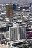 Luftaufnahme, Zirkus-Zirkus und Trumpf-Kontrollturm Lizenzfreie Stockbilder