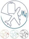 Luftausflug vektor abbildung