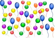Luftballonbeschaffenheit stockfotos