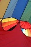 luftballong som är varm av att ta Royaltyfri Fotografi