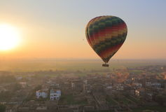 luftballong varma egypt Arkivbilder