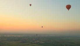 luftballong varma egypt Arkivbild