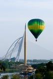 luftballongfiesta varma internationella putrajaya Royaltyfria Bilder