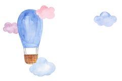 Luftballonillustration Stockfoto