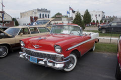 1956 luftbel chevy Royaltyfri Foto