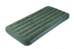Luftbett oder kampierendes Bett der Luft Lizenzfreies Stockfoto