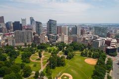 Luftbild Boston allgemeine USA Stockbild