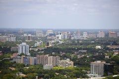 Luftbild Coral Gables Florida Stockfoto