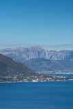 Luftbild der adriatisches Seelandschaft Lizenzfreie Stockbilder