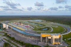 Luftbild der Miami-Gehöft-Speedway Lizenzfreies Stockfoto