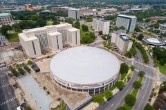 Luftbild Nashville-Musiker Hall of Fame und Museum stockfoto