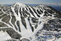 Luftbild von Mt Washington BC Kanada lizenzfreies stockfoto