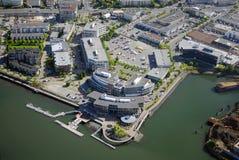 Luftbild von Victoria BC Kanada stockfotos