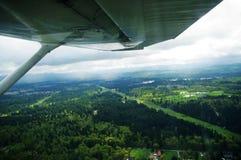 Luftbildfotografie/Kabine Lizenzfreie Stockbilder