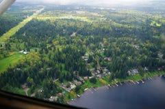 Luftbildfotografie/Kabine Lizenzfreies Stockfoto