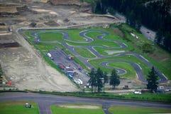 Luftbildfotografie/Kabine Lizenzfreies Stockbild
