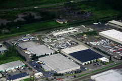 Luftbildfotografie/Kabine Lizenzfreie Stockfotografie