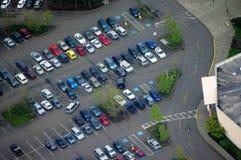Luftbildfotografie/Kabine Stockfotografie