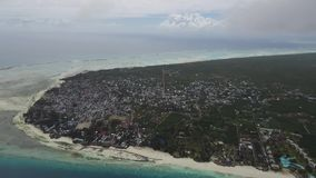 Luftbildfotografie-Sansibar-Insel stock video