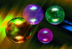 Luftblase Stockbild