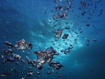 Luftblasen 112 Stockfoto