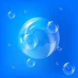 Luftblasen lizenzfreie stockbilder
