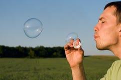 Luftblasen Lizenzfreie Stockfotografie