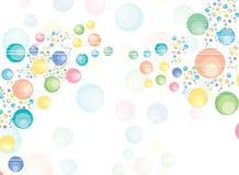 Luftblasen vektor abbildung