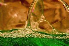 Luftblasen stockfoto