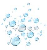 Luftblasen lizenzfreie abbildung
