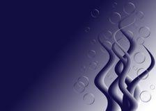 Luftblasen-Geschöpf stock abbildung