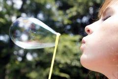 Luftblasen-Glück lizenzfreies stockfoto
