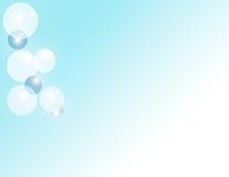 Luftblasen-Hintergrund Stockfoto