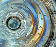 Luftblasen im Getränk lizenzfreies stockbild