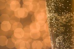 Luftblasen und Leuchten. Lizenzfreie Stockfotos