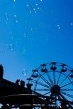 Luftblasen und Riesenrad Lizenzfreies Stockbild