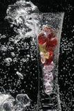 Luftblasen und Vase Lizenzfreie Stockfotografie