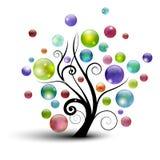 Luftblasenbaum Stockfoto