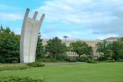 Luftbruckendenkmal Berlin lizenzfreies stockbild