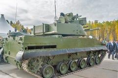 Luftburet spårat armerat medel BMD-4M Arkivbilder