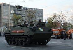 Luftburna bepansrade personalbäraren som kan användas till mycket BTR-MDM Rakushka Arkivbilder
