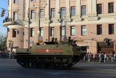 Luftburna bepansrade personalbäraren som kan användas till mycket BTR-MDM Rakushka Fotografering för Bildbyråer
