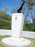 101. luftburna minnesmärke 2010 för Arlington kyrkogård Royaltyfri Fotografi