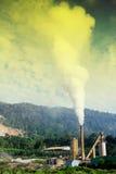 luftförorening Royaltyfri Bild