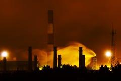 luftförorening 3 royaltyfri bild